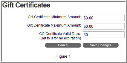 BVC 5 - Gift Certificate Options - BV Commerce